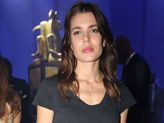 Charlotte Casiraghi visited Gucci Show at Milan Fashion Week