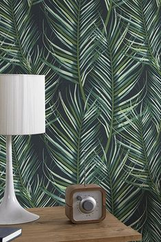 A complete guide to wallpaper - Textured wallpapers - Luxury wallpaper - Feature wall ideas - Wallpaper ideas - Patterned wallpaper Flock Wallpaper, How To Hang Wallpaper, More Wallpaper, Bathroom Wallpaper, Pattern Wallpaper, Wallpaper Ideas, Tropical Wallpaper, Botanical Wallpaper, Luxury Wallpaper