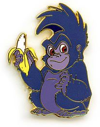 Disney Terk Gorilla Full Body From Tarzan Pin Pins