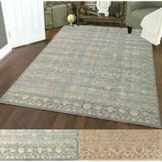 Admire Home Living Corina Tabriz Area Rug (5'3 x 7'3) | Overstock.com Shopping - The Best Deals on 5x8 - 6x9 Rugs
