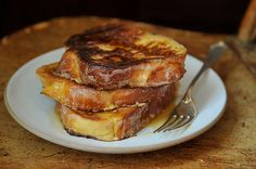 challa french toast.  follow directions then bake in oven @400 for about 12 minutes.. yum yum