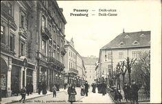 Bratislava, Times, Painting, Postcards, Paintings, Draw, Drawings, Greeting Card