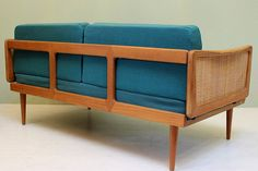 Vintage Peter Hvidt Daybed // Mid Century Modern by DejaVuLB, $2995.00 Take A Seat, Love Seat, Danish Modern, Midcentury Modern, Sofa, Couch, Mid Century Modern Furniture, Ranch Style, Daybed