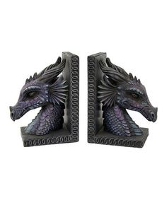 Another great find on #zulily! Dragon Bookend #zulilyfinds
