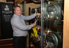 New cask ale 'cellar' bar has been installed at Green King's White Hart in Witham, Essex