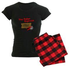 The Polar Express Ticket Pajamas on CafePress.com
