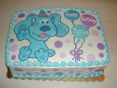 Blues Clues Sheet Cake