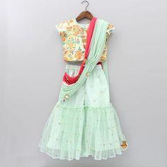 Indian Dresses For Kids, Wedding Dresses For Kids, Dresses Kids Girl, Indian Outfits, Kids Outfits, Doll Dresses, Baby Dresses, Baby Outfits, Baby Girl Fashion
