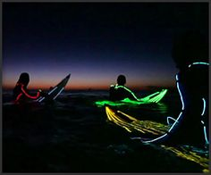 Neon Night Surfing...would love to watch.