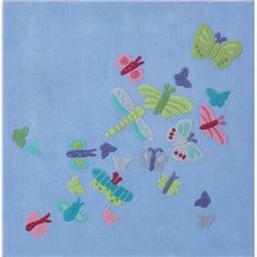 HABA - Summer Butterfly Rug  - WANT (for daughter obvs)