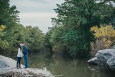 A McKinney Falls State Park Engagement Session | Chrissy & Craig | PhotoHouse Films | Austin Wedding Photographer
