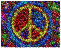 8172506f7d70 Skittles Peace Sign by Paul Van Scott