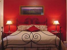 Romantic Bedroom Paint Colors Ideas - Romantic Bedroom Paint Colors Ideas by no means walk out types. Romantic Bedroom Paint Colors Ideas may be ornamented in a few approaches and every fu. Red Bedroom Design, Simple Bedroom Design, Bedroom Red, Couple Bedroom, Modern Bedroom, Master Bedroom, Bedroom Designs, Trendy Bedroom, Red Bedrooms