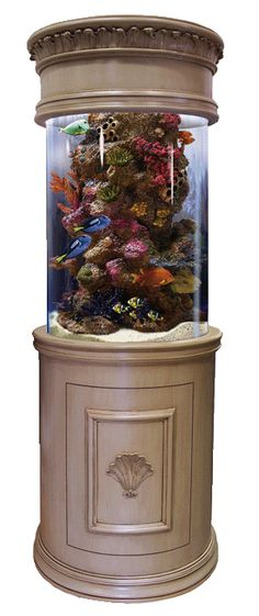 The Perfect Saltwater Aquarium <3 only let's fill it with jellyfish!