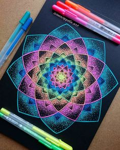 Mandala demaciado hermosa y colorida