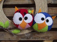 owlie lolie door hanger