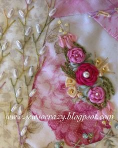 Sew So Crazy!©: Ailsa's gorgeous crazy quilting - Caboolture workshops