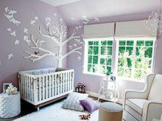 purple toddler bedroom ideas | Purple Kids Room Decor