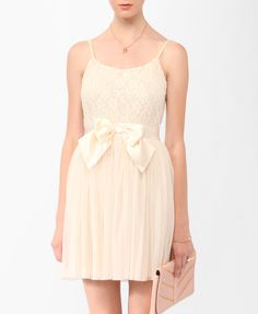 Lace & Tulle Bow Dress | FOREVER21 - 2011408921