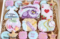 Alice In Wonderland Birthday  Cookie Set - Cake by Hiromi Greer
