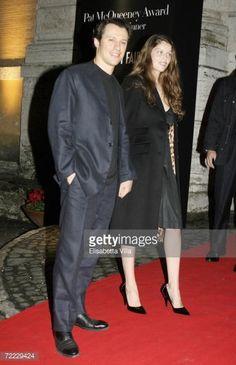Photo d'actualité : Actor Stefano Accorsi and model Laetitia Casta...