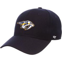 871a3024db4 '47 Brand Nashville Predators MVP Adjustable Hat (Navy)