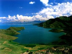 Lake Van - the largest lake in Turkey. Has no outlet, is 5,380ft high, does not freeze due to high salinity and with recorded depths of 1480 ft.