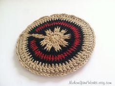 Navajo Inspired Crocheted Pot Holders Native by NizhoniYarnWorks