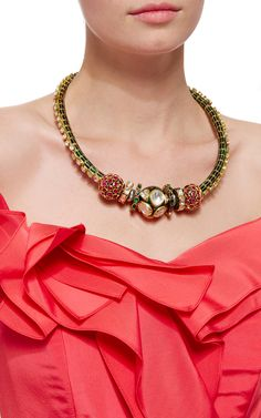 Sanjay Kasliwal Octopus Necklace - Preorder now on Moda Operandi