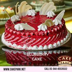 Looking for Blueberry Cake? Celebrate a special event with special cakes -       are absolutely freshly baked by our Cake shop. Call us: Buy Cake Online, Send Birthday Cake, Online Cake Delivery, Gateaux Cake, Blueberry Cake, Fresh Cream, Cake Shop, Freshly Baked, Cream Cake