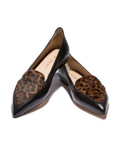 leopard stellato loafer