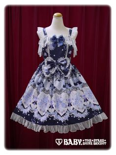 Baby, the Stars Shine Bright- Juno's Bouquet ~Oath of the Maiden~ JSK II (Navy)