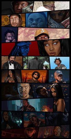 Hip Hop Someone please tell me who the artist is! Black Love Art, Black Girl Art, Art Girl, Arte Hip Hop, Hip Hop Art, Arte Dope, Dope Art, Cartoon Kunst, Cartoon Art
