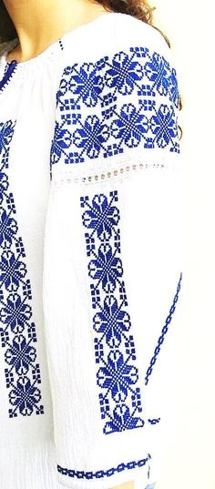 All Details You Need to Know About Home Decoration - Modern Shirt Embroidery, Embroidery Stitches, Boho Bluse, Fancy Skirts, Summer Blouses, Peasant Blouse, Embroidery Techniques, Cross Stitch Designs, Folklore