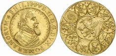 German States/ Pommern-Stettin AV 6 Dukaten ND Stettin Mint Herzog Philipp II 1606-18