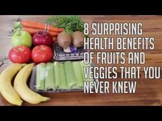 8 Fruits and Vegetables That Have Surprising Health Benefits - http://www.wisediy.com/8-fruits-and-vegetables-that-have-surprising-health-benefits/