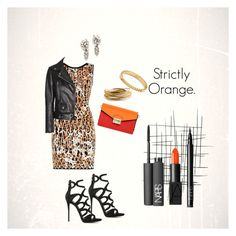 """Strictly Orange."" by campanellinoo on Polyvore"