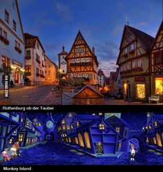 Rothenburg is the real melee Island (In response to the surreal germany places )