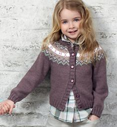 Ravelry: Cardigan pattern by Phildar Design Team Knitting For Charity, Knitting For Kids, Knit Cardigan Pattern, Jacket Pattern, Baby Knitting Patterns, Diy Crafts Knitting, Knit Basket, Baby Sweaters, Couture
