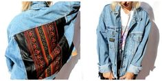 A very 70s like denim jacket! just perfect!