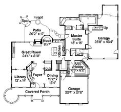 Four Bedroom Victorian Eclectic (HWBDO58493) | Victorian House Plan from BuilderHousePlans.com