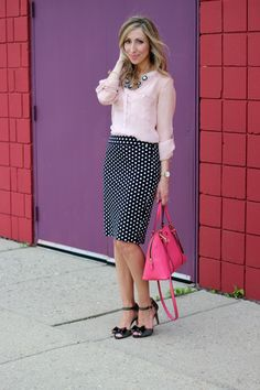 pink and polka dots--Lilly Style