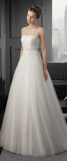 Two by Rosa Clara 2015 Bridal Collection | bellethemagazine.com WOW #laurelridgecc #weddingdresses