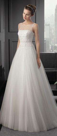 Two by Rosa Clara 2015 Bridal Collection | bellethemagazine.com WOW #laurelridgecc #weddingdresses