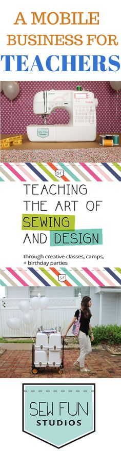 Do you love to teach? Do you want to own your own business? Sew Fun Studios Franchise is beyond affordable and they give you all the tools and support to build this profitable business. You don't need to know how to Sew to own this franchise! Visit http://www.sewfunstudios.com to read more about becoming an owner and the background of this incredible company.  If you love kids, teaching, and working from home.... this is a no brainer!