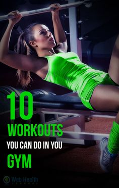 10 Workouts You Can Do in Your Gym : #ab_workouts