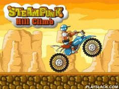 Steampunk: Hill Climb  Android Game - playslack.com , Feel like an actual motorcycle driver thrill-seeker who rides through a mountain region, in the game Steampunk: Hill Climb.