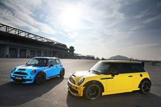 "Ultraleggera 17"" on Mini Cooper S JCW. Love the blue one!"