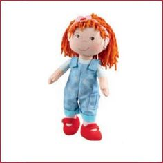 fb04a678592 Haba lappenpop Isabelle nu bij ons in de winkel Blue Overalls, Reborn  Toddler Girl,