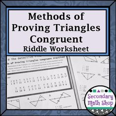 Nouns And Pronouns Worksheets Word Circles  Geometry Tangent And Secant Lines In Circles Riddle  Main Idea Details Worksheets Word with Direct And Inverse Proportion Gcse Worksheet Five Methods For Proving Triangles Congruent Riddle Practice Worksheet Second Grade Worksheets Excel